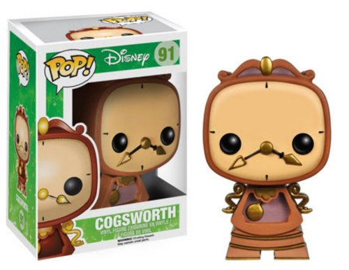 Disney Beauty and the Beast: Cogsworth #91
