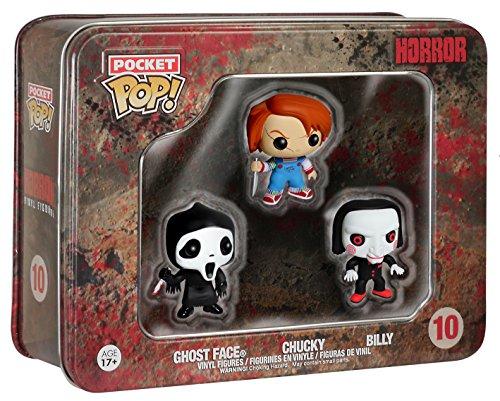 Horror: Pocket POP! Tin Of 3 Figures