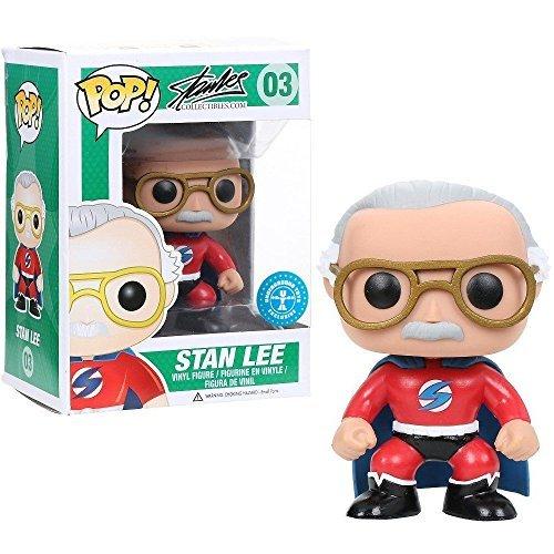 Marvel: Exclusive Stan Lee Superhero Bobblehead #03