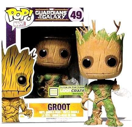 Marvel: Guardians of the Galaxy Exclusive GITD Groot #49